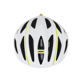 Mavic Aksium Elite Helmet Women White/Colza Yellow